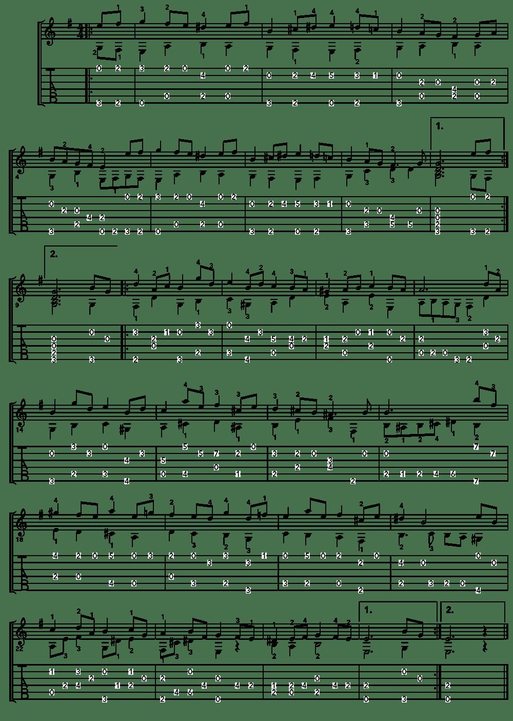 Bach-Bourree