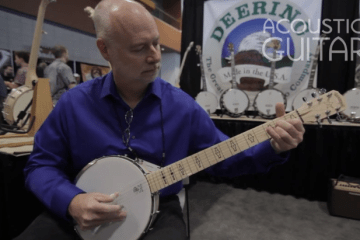 Deering Goodtime Six-String Banjo Summer NAMM 2016