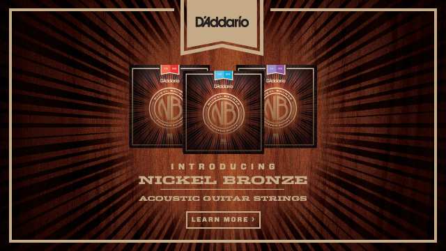D'Addario Nickel Bronze