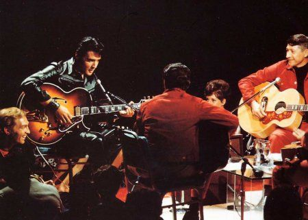 Throwback Thursday: Watch Scotty Moore and Elvis Presley Perform 'Trying To Get To You' from the '68 Comeback Special
