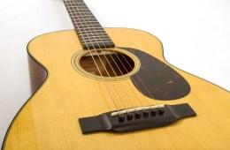martin guitar 0-18 bridge