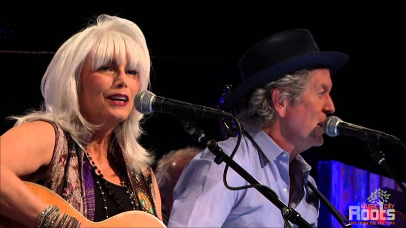 """Throwback Thursday: Emmylou Harris and Rodney Crowell Play Gram Parsons' """"Wheels"""""""