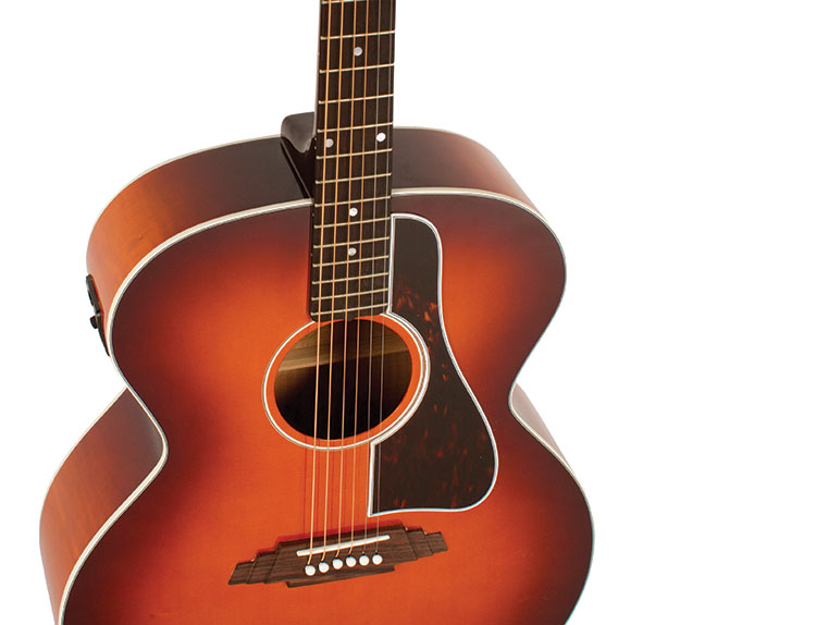 Video review blueridge super jumbo defies the laws of tradition kemps bluegrass licks fly effortlessly from the rosewood fretboard he found the guitars high register a bit bright a product in part of the maple back sciox Gallery