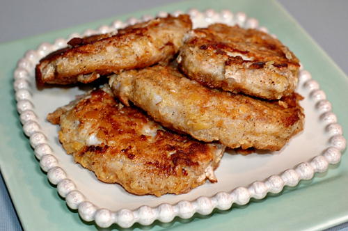 Breaded Boneless Pork Chops