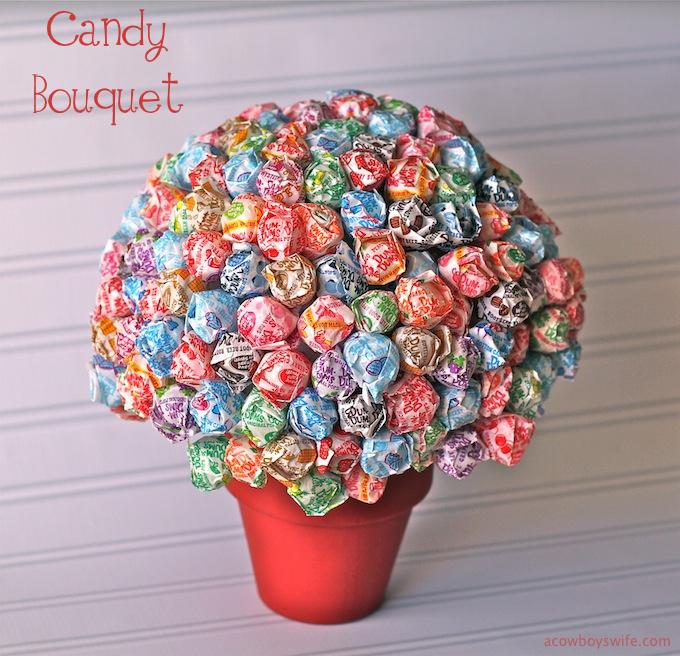 Dum Dums Candy Bouquet
