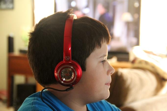 Monster Headphones on Truett