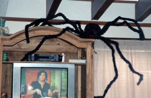 8 foot spider halloween decoration
