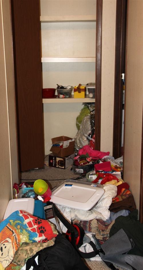 messy hall