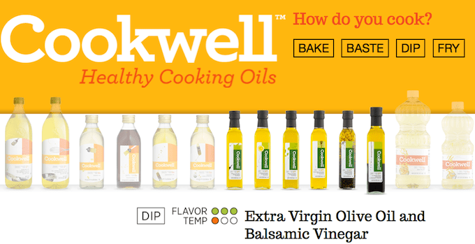 Cookwell Healthy Cooking Oils