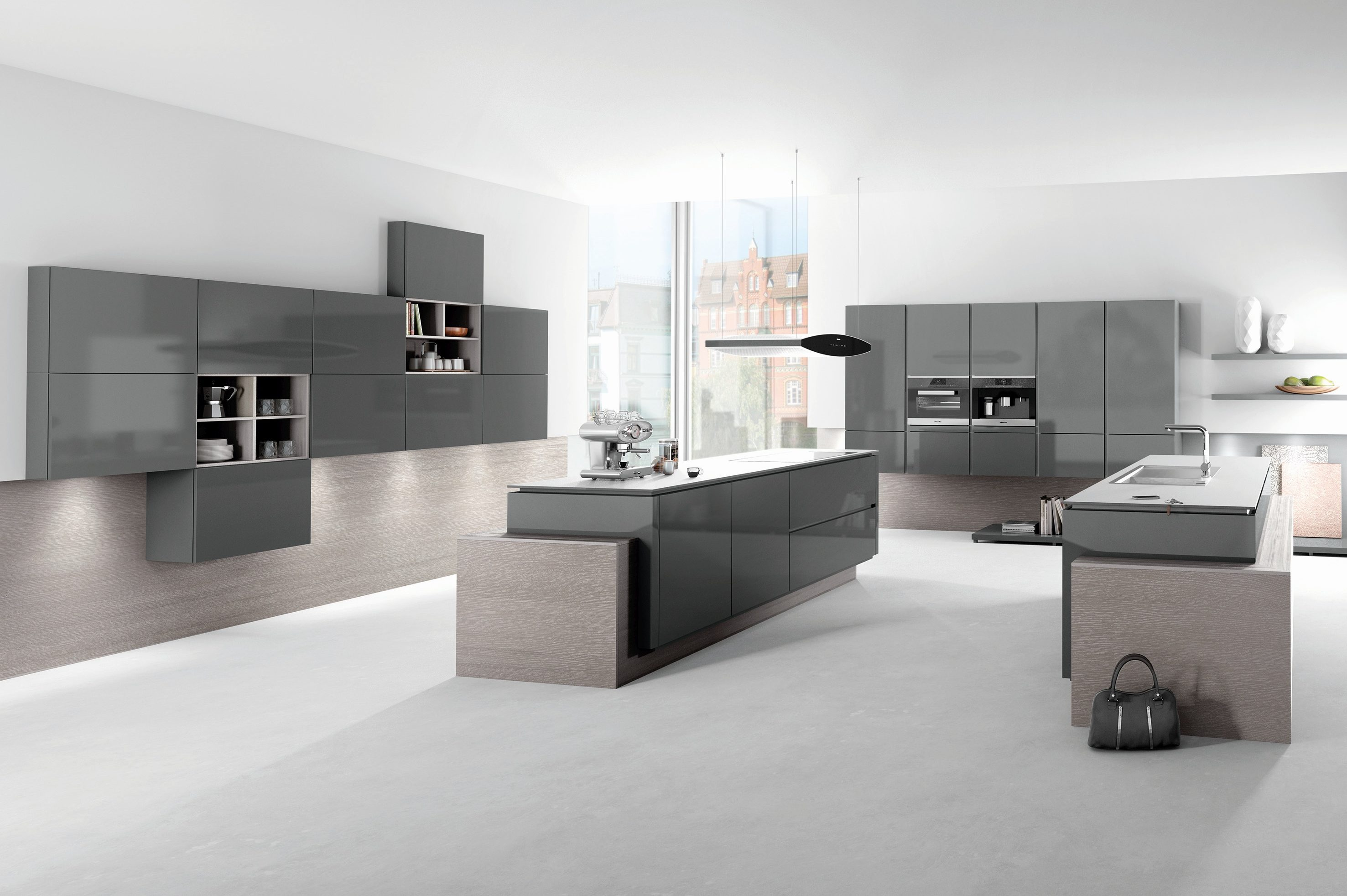 Glasplatte Küchenwand Acqua Kitchens