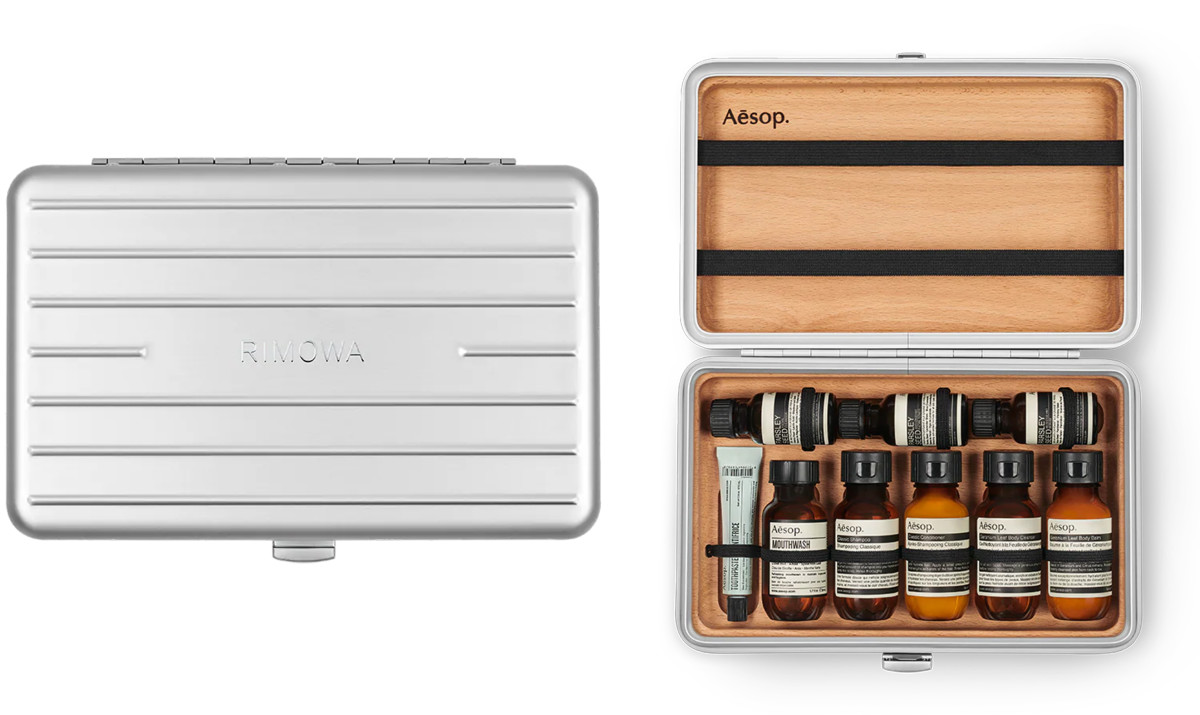 Rimowa Köln Rimowa Releases A Limited Edition Toiletry Kit With Aesop Acquire