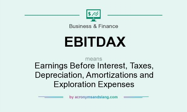 EBITDAX - Earnings Before Interest, Taxes, Depreciation