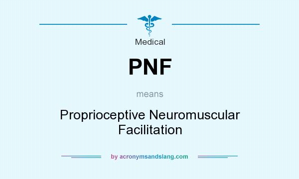 PNF - Proprioceptive Neuromuscular Facilitation in Medical by