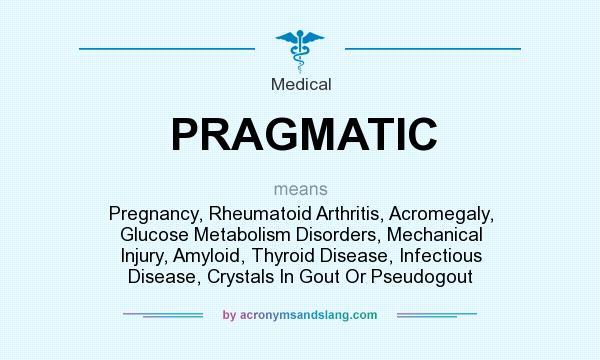 What does PRAGMATIC mean? - Definition of PRAGMATIC - PRAGMATIC