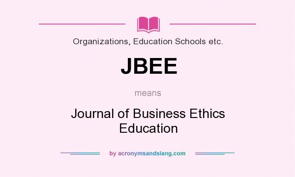 What does JBEE mean? - Definition of JBEE - JBEE stands for Journal
