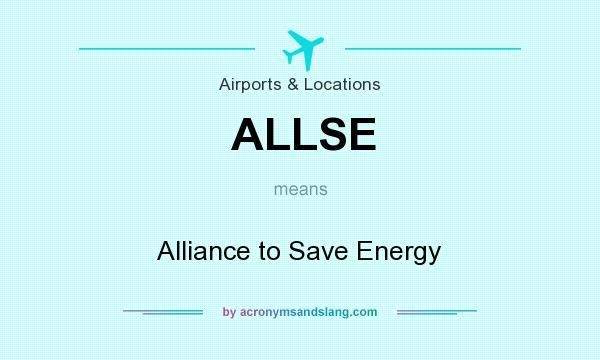 What does ALLSE mean? - Definition of ALLSE - ALLSE stands for
