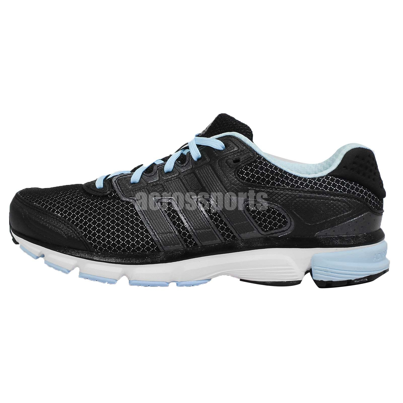 Adidas Nova Cushion W Black Blue Womens Running Shoes