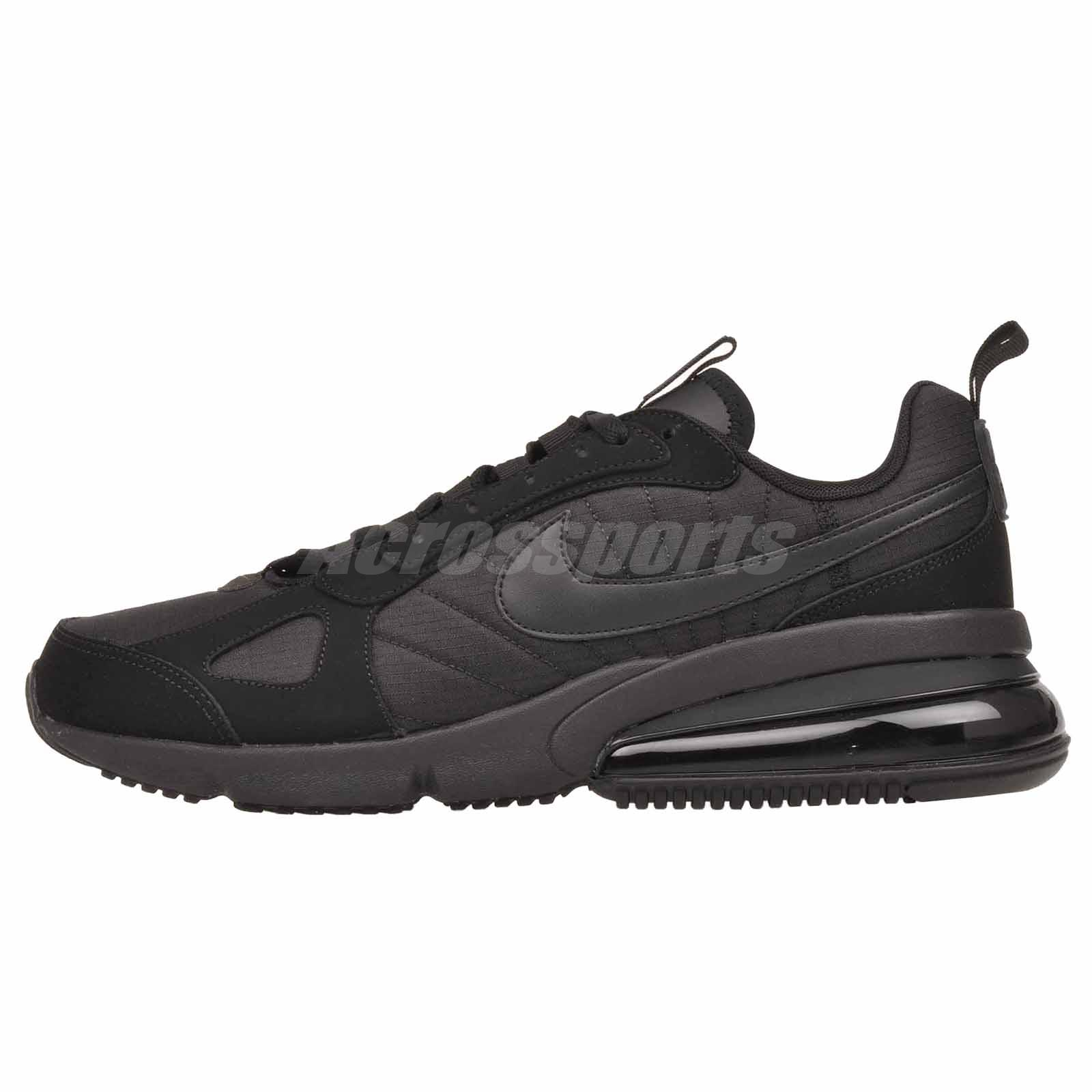 Air Max Running Details About Nike Air Max 270 Futura Running Mens Shoes Black Anthracite Ao1569 005