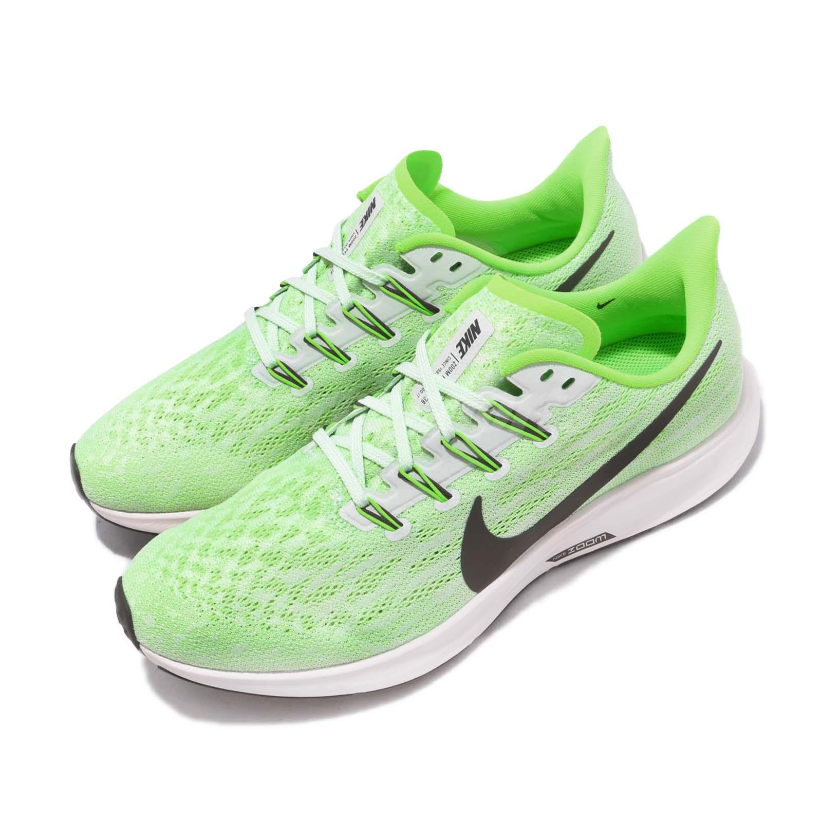 Nike Zoom Grey And Green Details About Nike Air Zoom Pegasus 36 Green Grey White Men Running Shoes Sneakers Aq2203 003