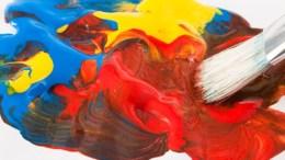 Pinsel mit Acrylfarben - Malen lernen mit Acryl  Bild Copyright: Fotolia.de
