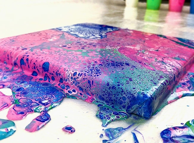 Acrylic Pouring Guide - Pour Painting for Beginners
