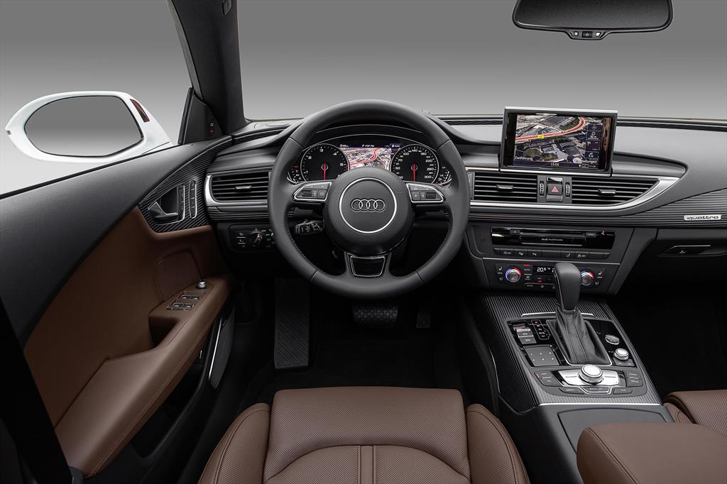 Audi A1 Interieur Audi A7 2.0t Elite (252hp) (2018)