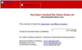 This is not the normal AEF website home page