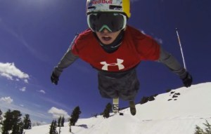 Bobby Brown straps on a GoPro and takes it for a wild ride down the gnarly Red Bull Megaslope. Built in the Kirkwood Mountain Resort in Northern California, Red Bull Megaslope was a slopestyle course built with one purpose in mind: be gnarly.