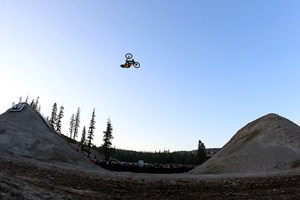 Cam Zink Sets World Record with 100-ft, 3 inch Backflip