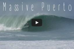 Biggest Swell of Winter Blasts Puerto Escondido, MX