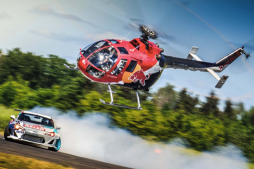 Can a Rally Car Out Maneuver a Helicopter?
