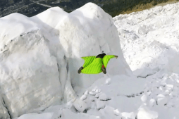 Watch Incredible Wingsuit Session Over Glacier