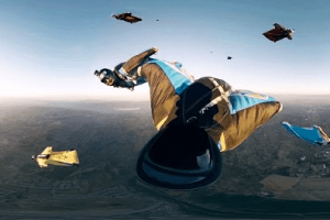 GoPro VR: Skydiving with GoPro Bombsquad – A Virtual Reality Experience