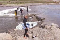 Watch Hawaiian Legend Gerry Lopez River Surfing in Bend, Oregon