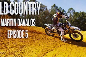 Martin Davalos Supercross Practice with Chad Reed | Old Country – Ep. 5