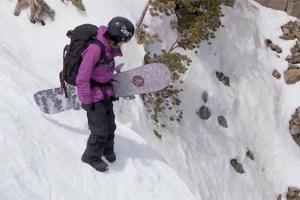 Snowboarder Kimmy Fasani & Mammoth's Rock Chute Line | Locals