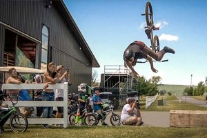 BMX Long and High Jump Contest