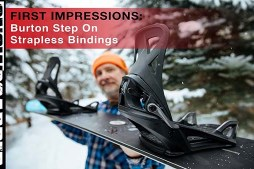 Burton Unveils New Step On Strapless Bindings at Vail Moutain Facebook Live Video