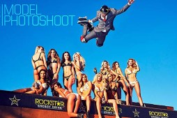 2017 Rockstar Model Photoshoot