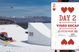 Snowboarder Mag Superpark 21 at Mammoth – Day 2 Video
