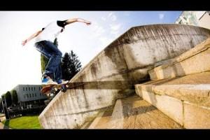Technical Street Shredding in Salzburg | Check out skateboarder Philipp Josephu