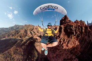 GoPro Fusion: Paramotor Through Moab's Desert Canyons in VR