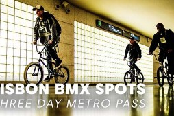 3 BMX Bikes, 3 Riders, 3 Day Metro Pass in Lisbon