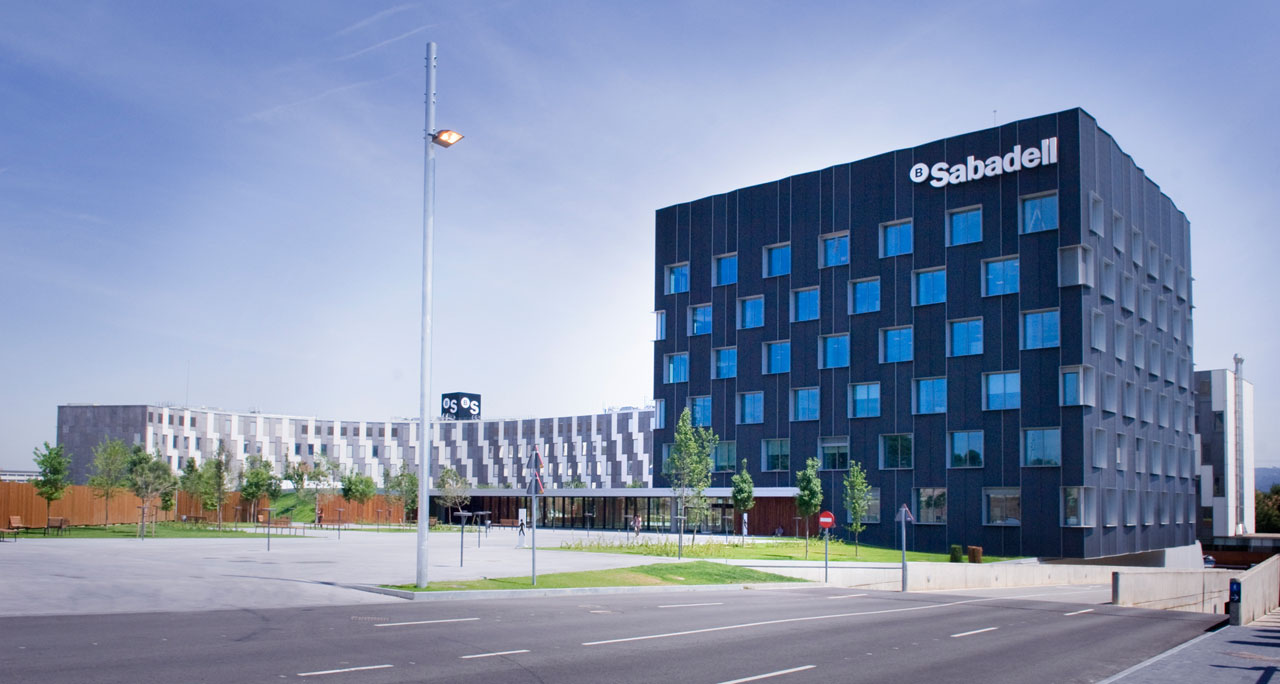 Sabaedell Sabadell Bank A Friendly Space Designed For The Welfare Of The