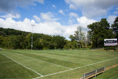 graham park in cranberry township has several full size football and soccer fields