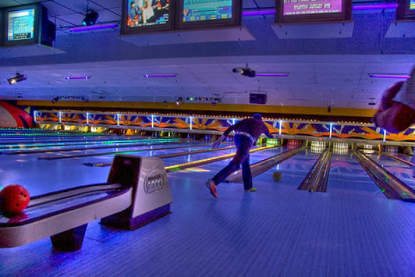 cosmic bowling at an alley in pittsburgh pennsylvania