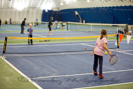 children take place in youth tennis programs at mellon park in pittsburgh pennsylvania
