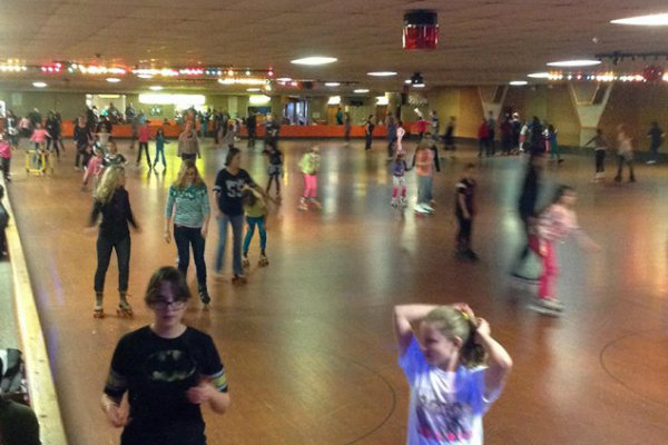 roller skating at neville island in pittsburgh pennsylvania
