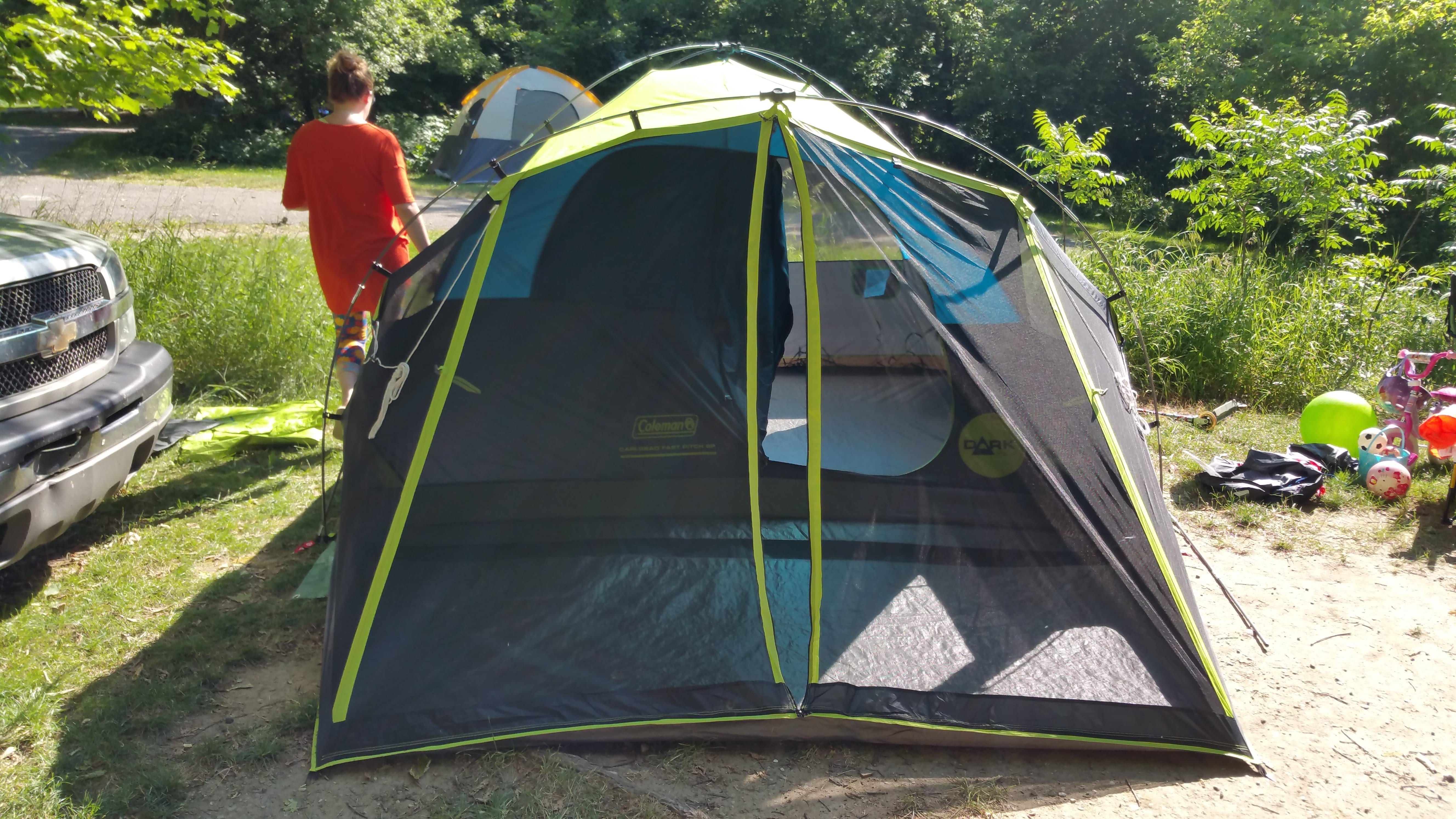 Coleman Carlsbad Fast Pitch 6 Person Tent Review Active