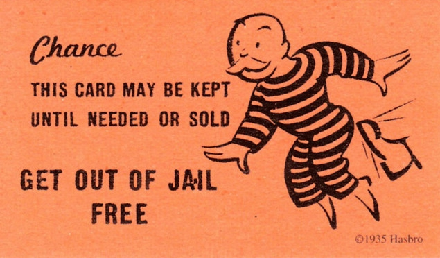 Get out of Jail Free Card\